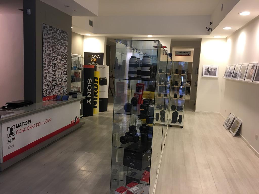 negozio fotografia matera